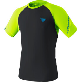 Dynafit Alpine Pro T-shirt Heren, fluo yellow/black